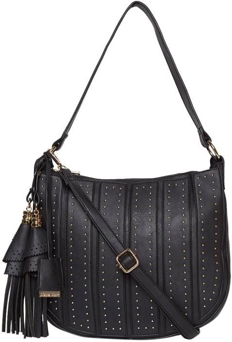 dc29c09ed0 Buy Diana Korr Hand-held Bag Black Online @ Best Price in India ...