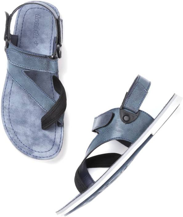 52fe0c9e6166 Roadster Men Blue Sandals - Buy Roadster Men Blue Sandals Online at Best  Price - Shop Online for Footwears in India