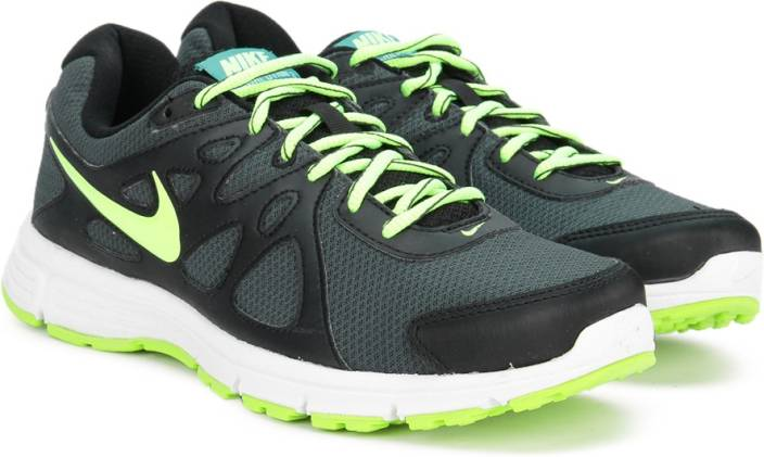 9db393269e3c Nike REVOLUTION 2 MSL Running Shoes For Men - Buy BLACK   BLACK ...