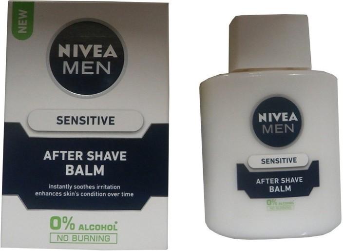 nivea sensitive after shave balm