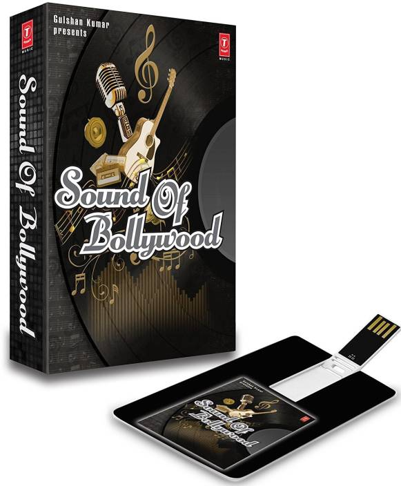 Music Card Sound Of Bollywood 4GB Pen Drive 150 Songs