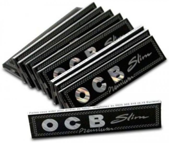 SCORIA OCB King Size Rolling Paper (PACK OF - 10) 320 leaves Assorted Hookah Flavor
