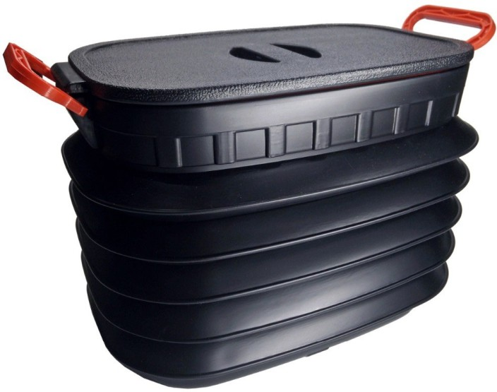 Vepson Folding Bucket Collapsible Box Portable Outdoor Storage Basket