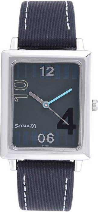 Sonata NG7078SL01 Classic Watch  - For Men