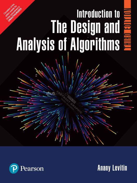 Introduction to the Design and Analysis of Algorithms Third Edition