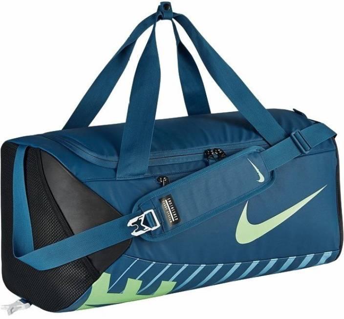 3215f24fa Nike Alpha Adapt Crossbody Duffel Bag- Blue/ Yellow Travel Duffel Bag  (Multicolor)