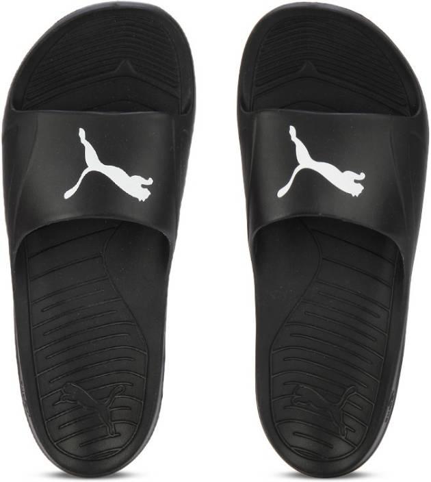 c3d20eb57 Puma Divecat Flip Flops - Buy Black-White Color Puma Divecat Flip Flops  Online at Best Price - Shop Online for Footwears in India