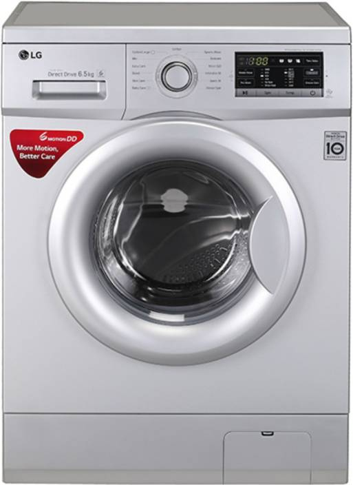 LG 6.5 kg Fully Automatic Front Load Washing Machine Silver