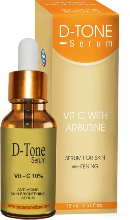 7230f46ba17 Cosderma Vitamin c serum with Arbutin Fairness Agent Pigmentation & Tan  Removal (15 ...