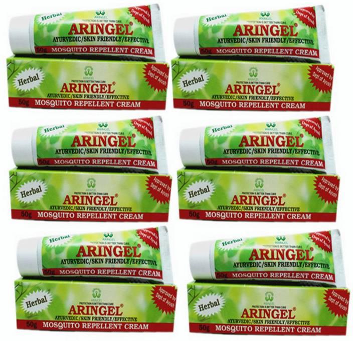 Aringel Herbal Mosquito Repellent Cream-6 pcs.