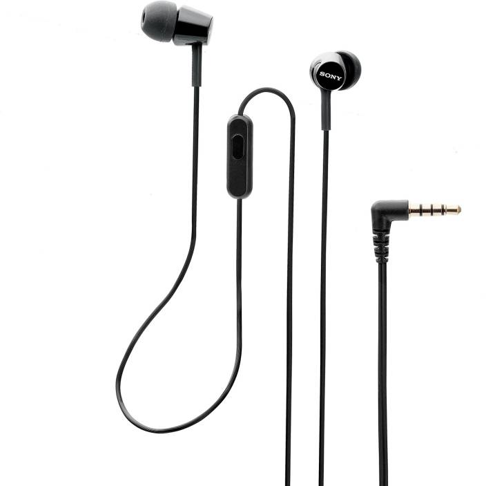 Sony EX155 Wired Headset with Mic