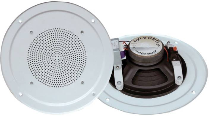 Pyle Home PDICS54 5-Inch Full Range System with Transformer Home Audio Speaker