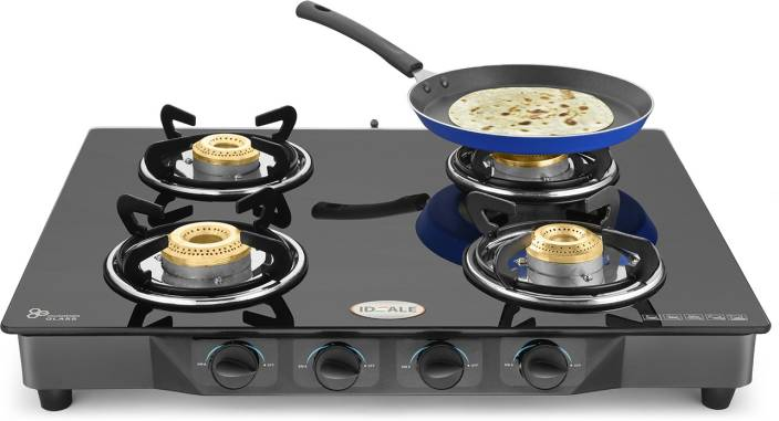 Ideale Quatre-T Steel Manual Gas Stove