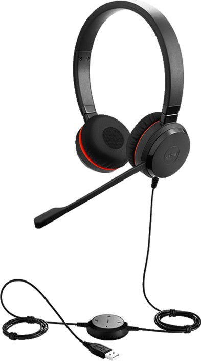 Jabra Evolve 30 With 35mm Uc Stereo Wired Headset With Mic Price In