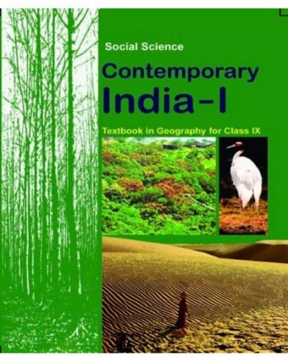 Contemporary India 1 Textbook In Geography For Class 9
