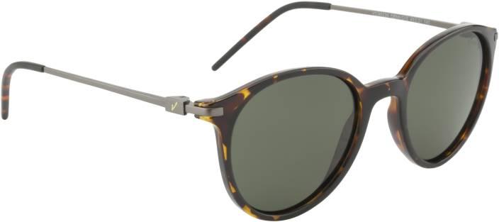 e2f2989766 Buy Velocity Round Sunglasses Green For Men   Women Online   Best ...