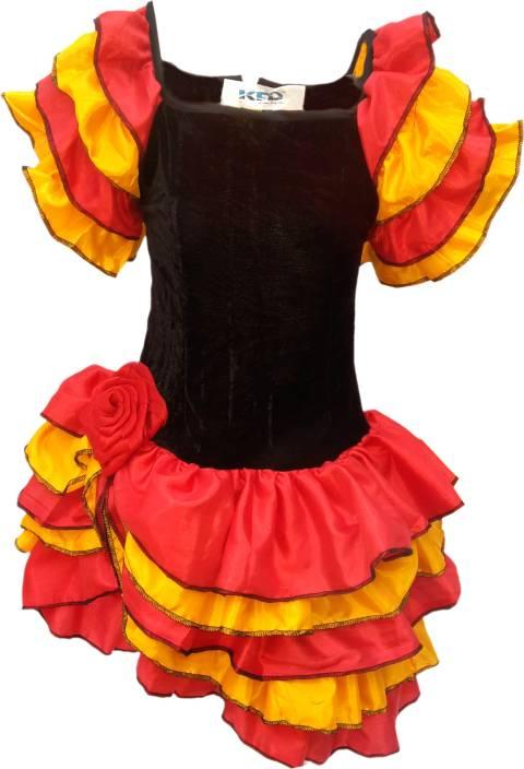 c08d886a62 Kaku Fancy Dresses Salsa Girl fancy dress for kids