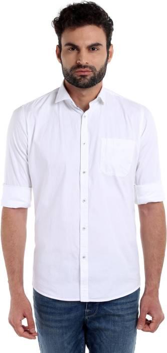 Integriti Men's Solid Casual Shirt