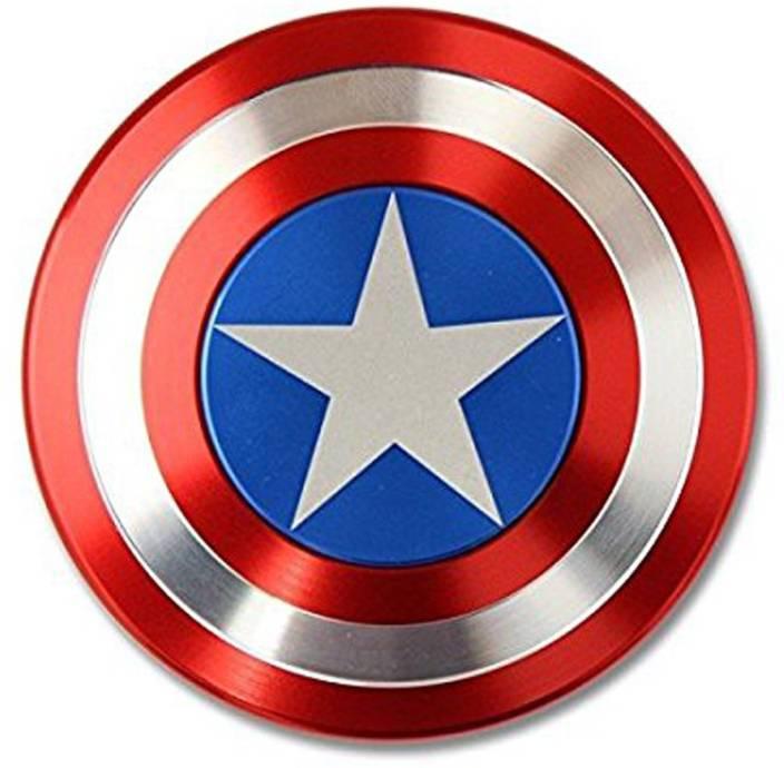 AdiChai Captain America Shield Metal Fidget Spinner