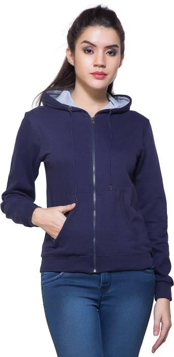 Maniac Full Sleeve Solid Women's Sweatshirt