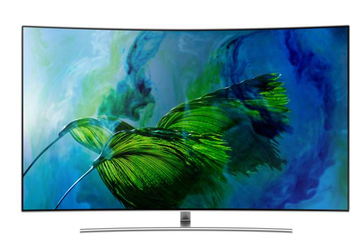 Samsung Q Series 163cm (65 inch) Ultra HD (4K) Curved QLED Smart TV