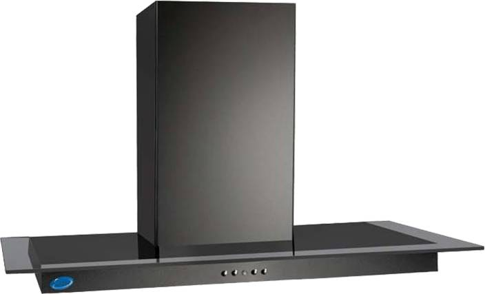 GLEN GL 6062 Black Wall Mounted Chimney