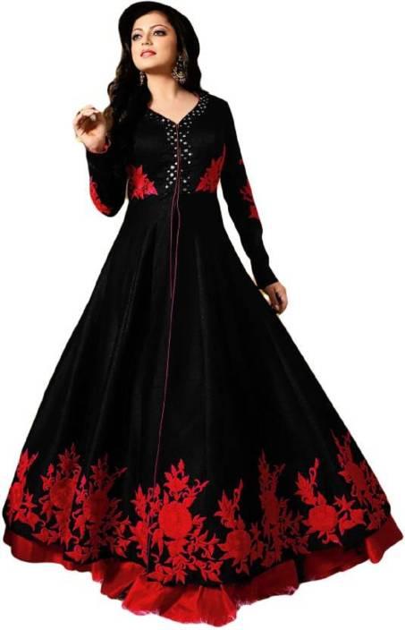 46dd007083 PRACHI Anarkali Gown Price in India - Buy PRACHI Anarkali Gown ...