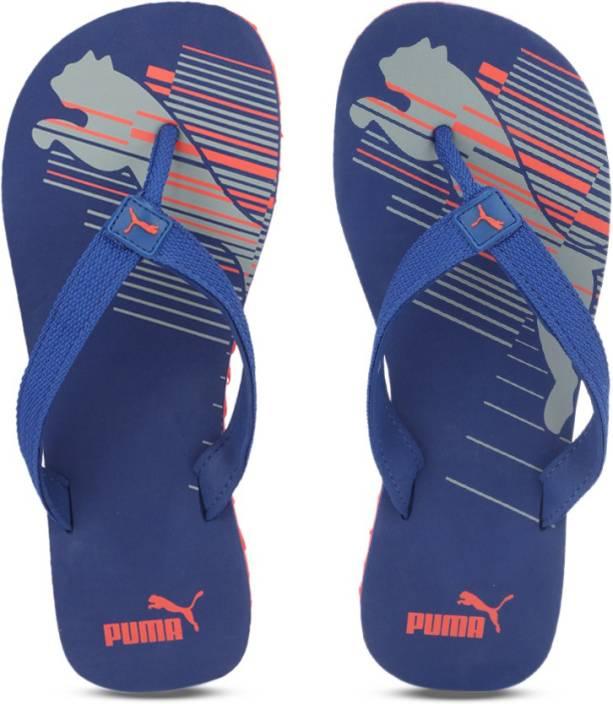 804937857665 Puma Shore IDP Flip Flops - Buy Lapis Blue-Cherry Tomato-Quarry Color Puma  Shore IDP Flip Flops Online at Best Price - Shop Online for Footwears in  India ...