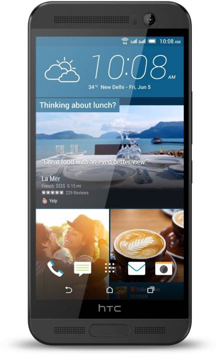 HTC One Me Dual (Meteor Grey, 32 GB)