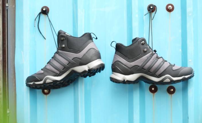 78cdb768f ADIDAS TERREX SWIFT R MID Outdoor Shoes For Men - Buy GRANIT CBLACK ...