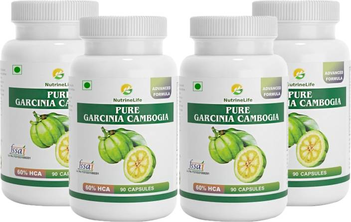 Nutrinelife Pure Garcinia Cambogia 100% Natural Extract, Weight Loss Pill,  Appetite Suppressant,