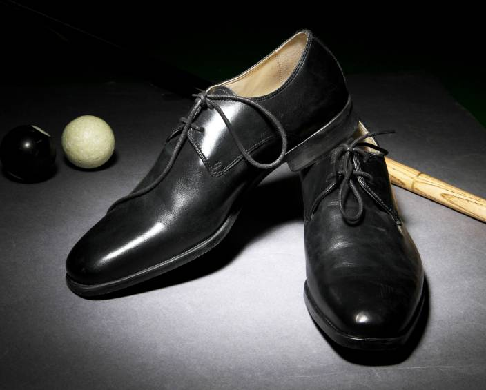 Clarks Amieson Walk Black Leather Lace Up For Men