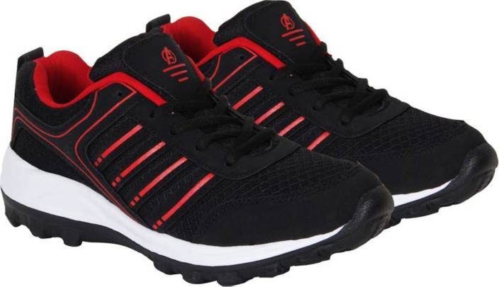 29845e469c95 Aero Power Play Running Shoes For Men - Buy Black-Red Color Aero ...