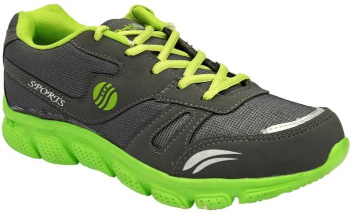 83f4f055562a Action Shoes Running Shoes For Men - Buy ESP-103-GREY-GREEN Color ...