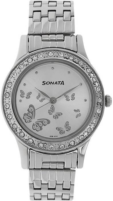 c527385c953 Sonata NJ8123SM01 Watch - For Women - Buy Sonata NJ8123SM01 Watch - For  Women NJ8123SM01 Online at Best Prices in India
