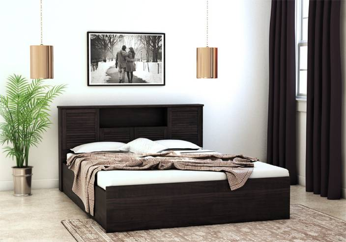 HomeTown Bali Bolton Engineered Wood Queen Bed With Storage