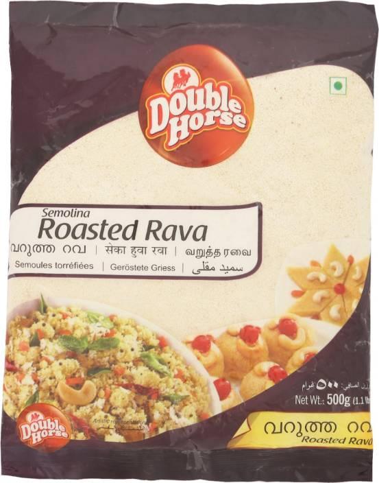 Double Horse Semolina Roasted Rava Price in India - Buy