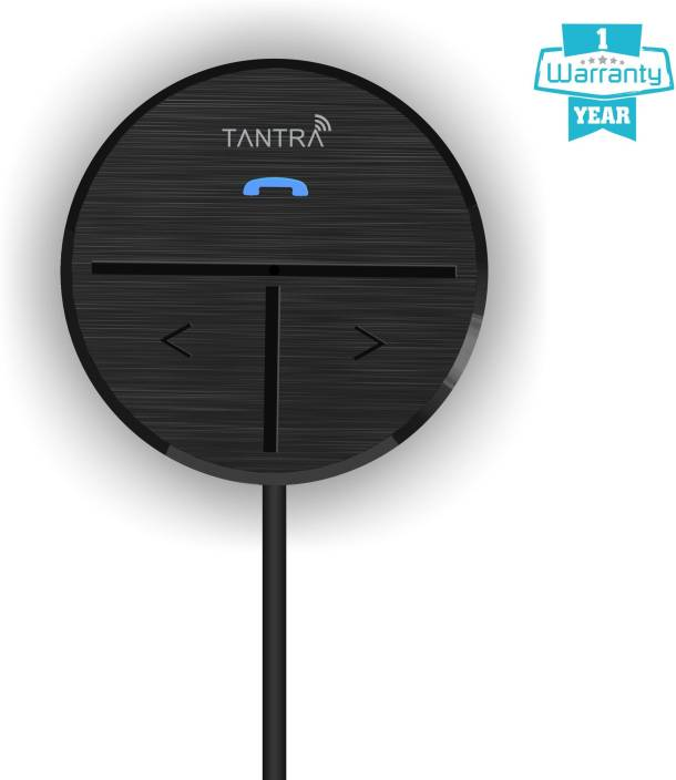 Tantra v4.0 Car Bluetooth Device with MP3 Player, 3.5mm Connector, Audio Receiver