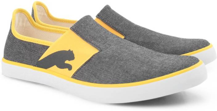 Puma Lazy Slip On II DP Sneakers  Buy French BlueSafety Yellow Color Puma Lazy Slip On II DP Sneakers Online at Best Price  Shop Online for Footwears in India  9yStUWuz