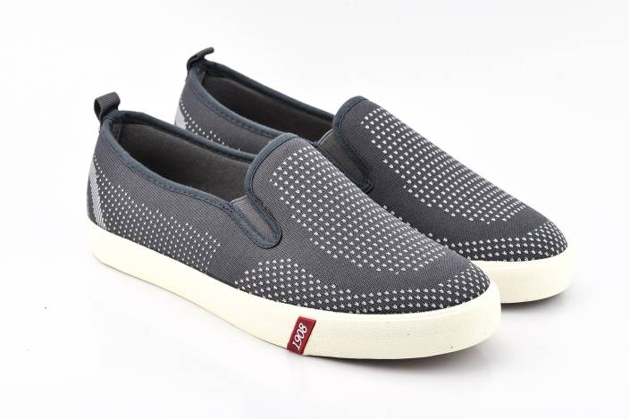 Lee Cooper Canvas Loafers For Men
