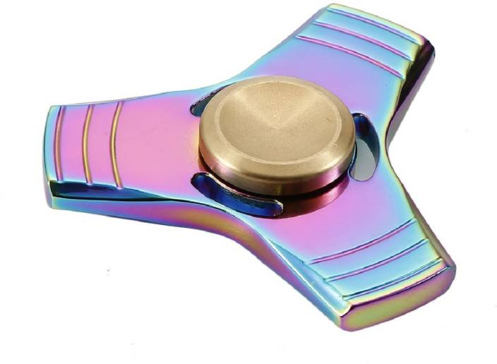 Montez Shinning Rainbow Metal Trout Fidget Spinner Toy