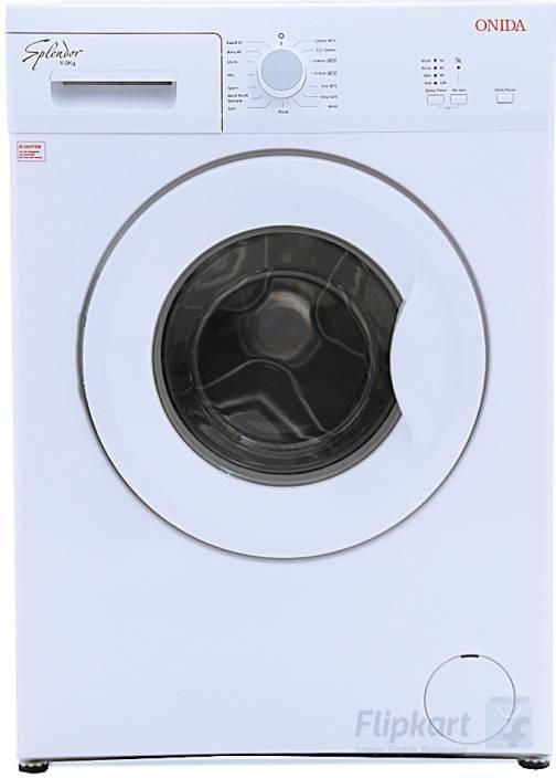 Onida 6 kg Fully Automatic Front Load Washing Machine White