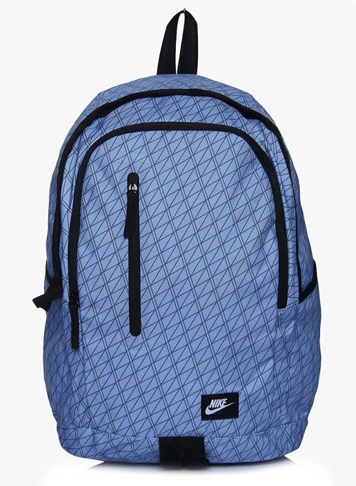 fcfb0b6d553e Nike All Access Soleday School-Backpack 25 L Backpack Blue - Price ...