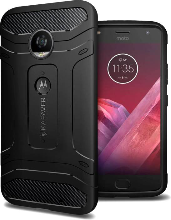 super popular ca50e 03415 Kapaver Back Cover for Motorola Moto Z2 Force, Motorola Moto Z2 Play
