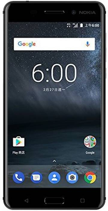 Nokia 6 (Matte Black, 32 GB)