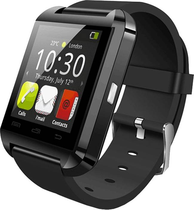 Ambrane ASW-11 Bluetooth and Fitness Tracker Black Smartwatch