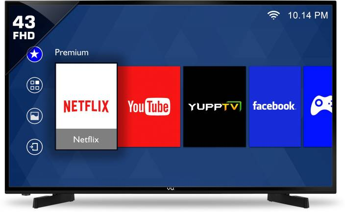 tv 43 inch. vu 109cm (43 inch) full hd led smart tv tv 43 inch f