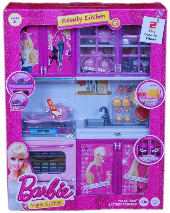 Barbie Barbie Kitchen Set Barbie Kitchen Set Buy Beauty Vogue