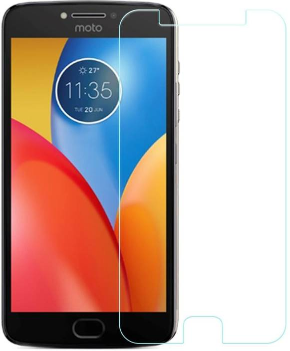 Cell-loid Tempered Glass Guard for Motorola Moto E4 Plus