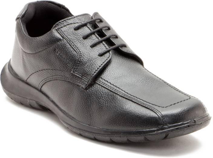 Red Tape Men Genuine Leather Wrinkled Leather Shoes For Men